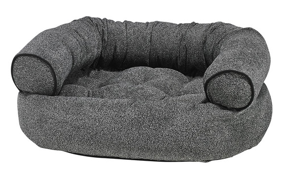 Castlerock Chenille Double Donut Pet Dog Bed
