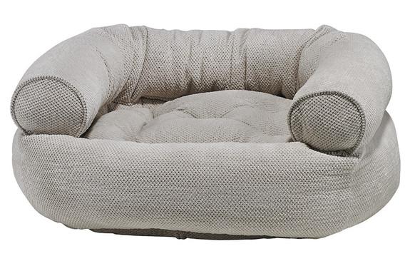 Aspen Chenille Double Donut Pet Dog Bed