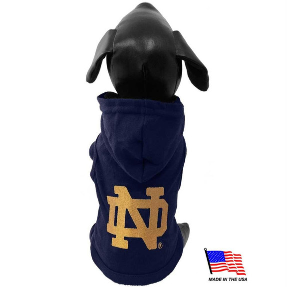 Notre Dame Fighting Irish Pet Hoodie