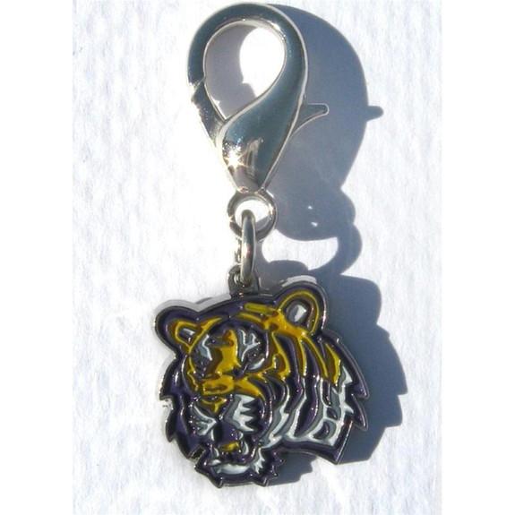 LSU Tigers Collar Charm