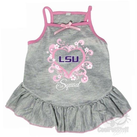 """LSU Tigers """"Too Cute Squad"""" Pet Dress"""