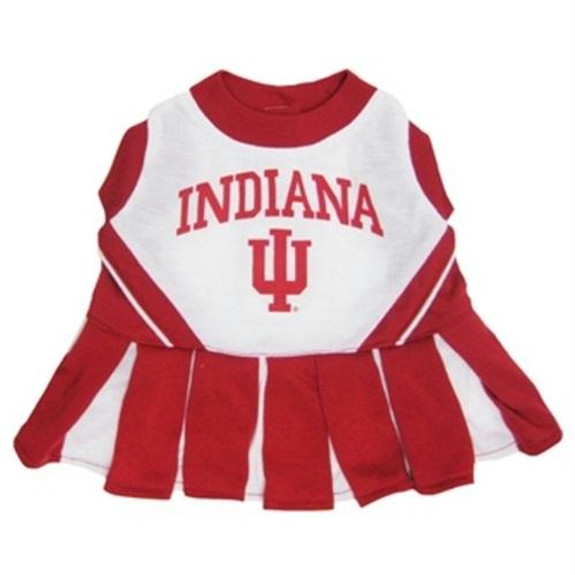35088f45 Indiana Hoosiers Cheerleader Pet Dress