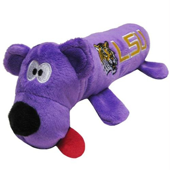 LSU Tigers Plush Tube Pet Toy