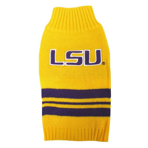 LSU Tigers Dog Sweater