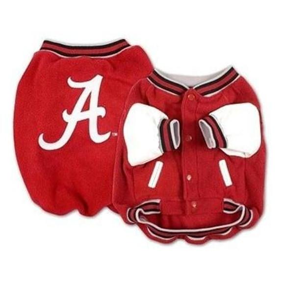 Alabama Crimson Tide Varsity Dog Jacket