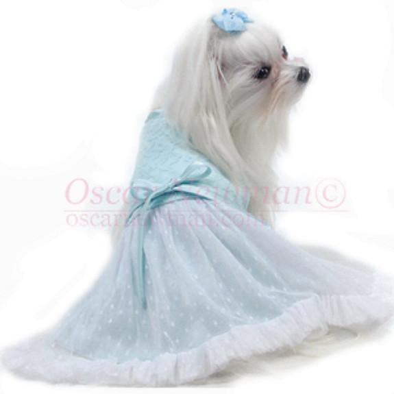 Tiffany Lace Dog Dress - Back
