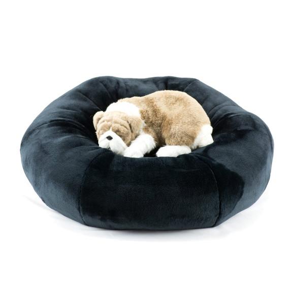 Black Spa Dog Bed