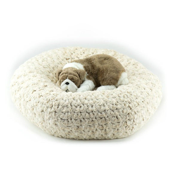 Frosted Camel Dog Bed