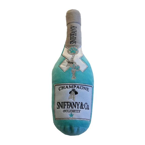 Sniffany Champagne Plush Dog Toy