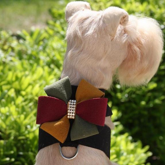 Autumn Bow Tinkie Dog Harness