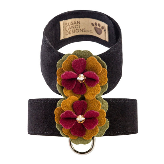 Autumn Flowers Tinkie Dog Harness