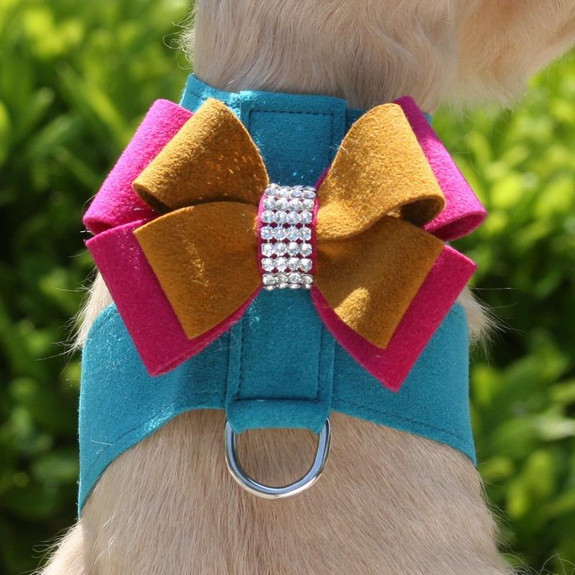 Isabella Bow Tinkie Dog Harness