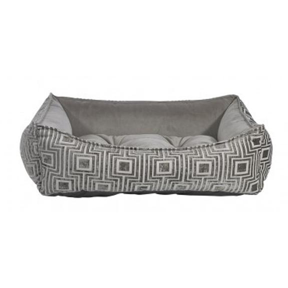 Cafe Au Lait Jacquard  Oslo Ortho Pet Dog Bed