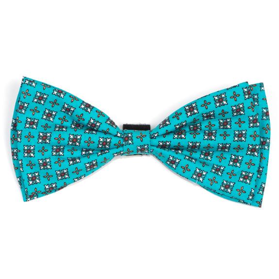 Foulard Turquoise Pet Dog Bow Tie
