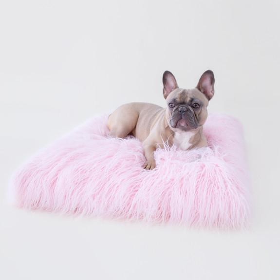 The Himalayan Yak Dog Bed: Ballerina Pink