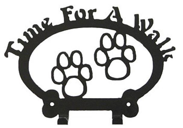A Dog Leash Holder - Paws