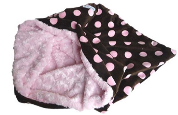 Snuggle Pup 3 'n 1 - Big Dots Pink