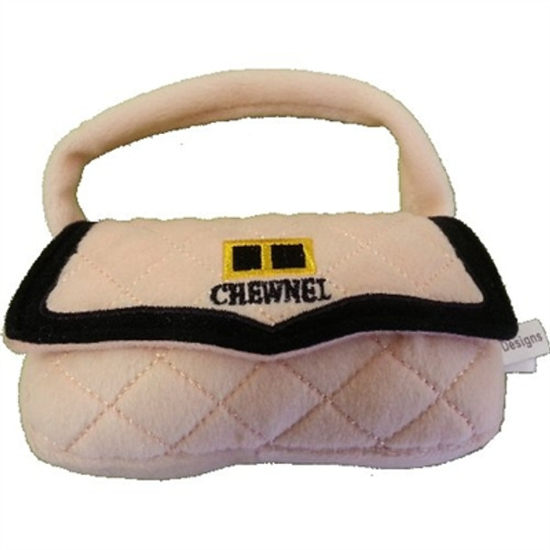 Chewnel Purse Plush Dog Toy
