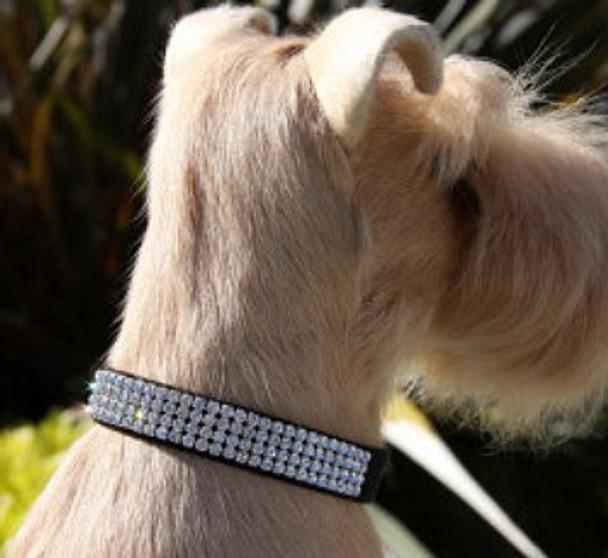 Giltmore Crystal 4-Row Collars