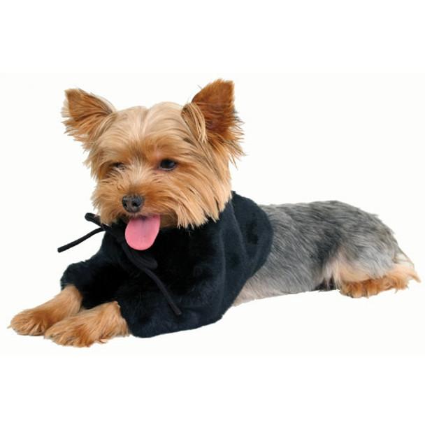Park Avenue Black Dog Shrug - Small
