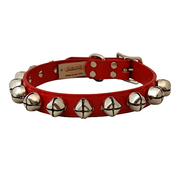 Jingle Bell Dog Collar - Red