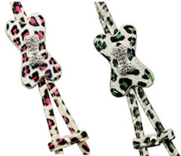 Designer Charm Snow Leopard Step In Harness