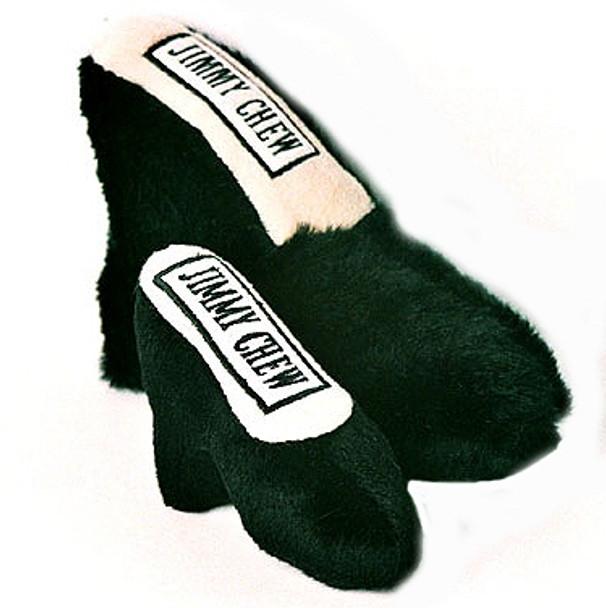 Jimmy Chew DogToy - Black Shoe