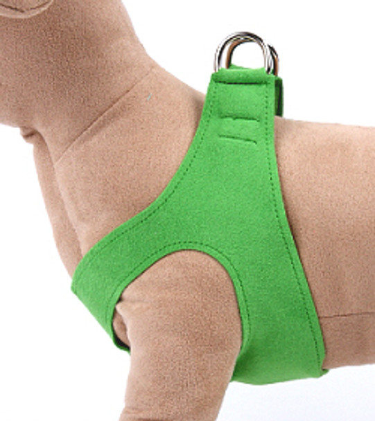 Green Step in Dog Harness by Susan Lanci
