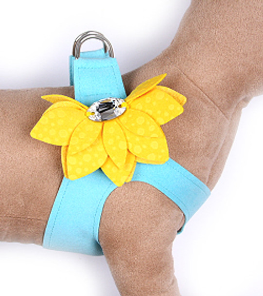 Tiffi Blue / Sunshine Water Lily Step in Dog Harness