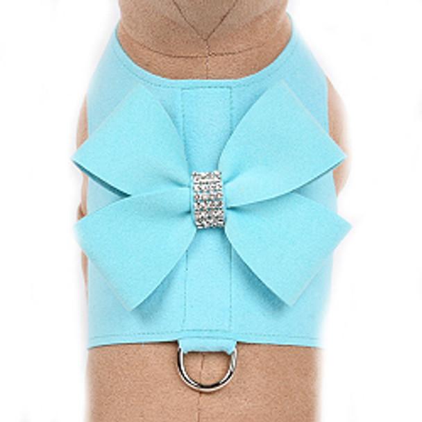 Tiffi Blue Nouveau Bow Bailey II Dog Harnesses - Choose Colors