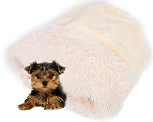 Cuddle Cup - Cream Shag by Susan Lanci