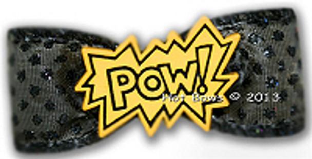 Dog Bow Barrette - POW!