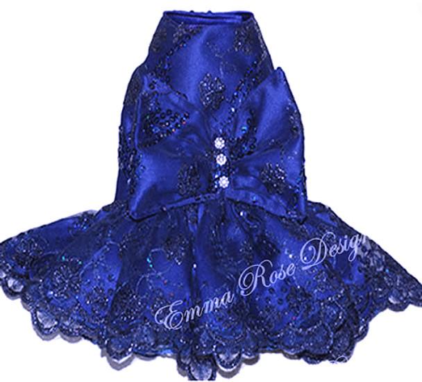 Blueberry Surprise Dog Dress