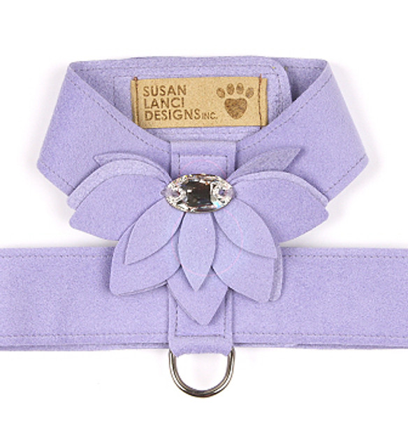 French Lavender Water Lily Tinkie Dog Harness