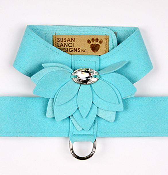 Tiffi Blue Water Lily Tinkie Dog Harness