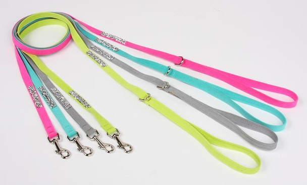 Crystal Rocks Dog Leads by Susan Lanci