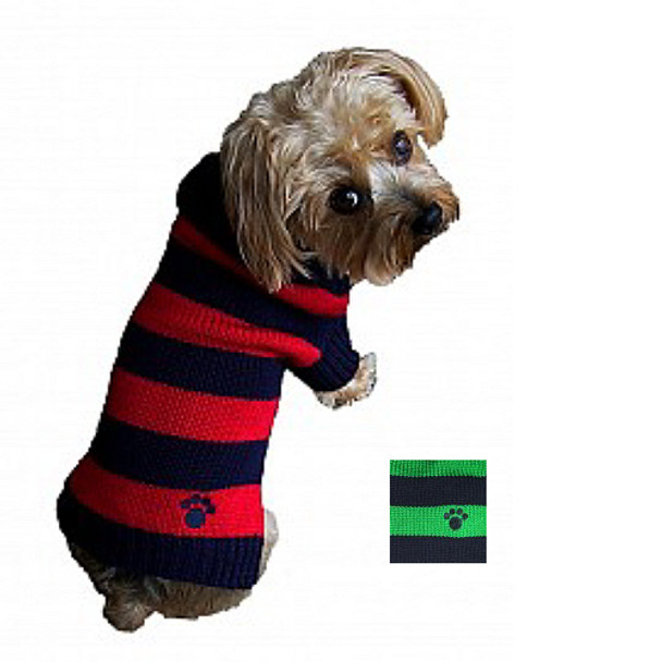 Classy Rugby Signature Paw Dog Sweater