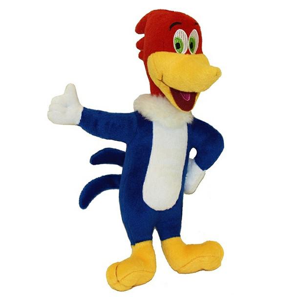 Woody Woodpecker Plush Dog Toy