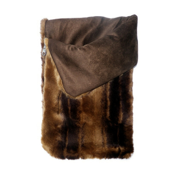 Chinchilla Fur Snuggle Pups Dog Sleeping Bags
