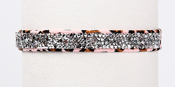 Cheetah Crystal Rocks Dog Collars