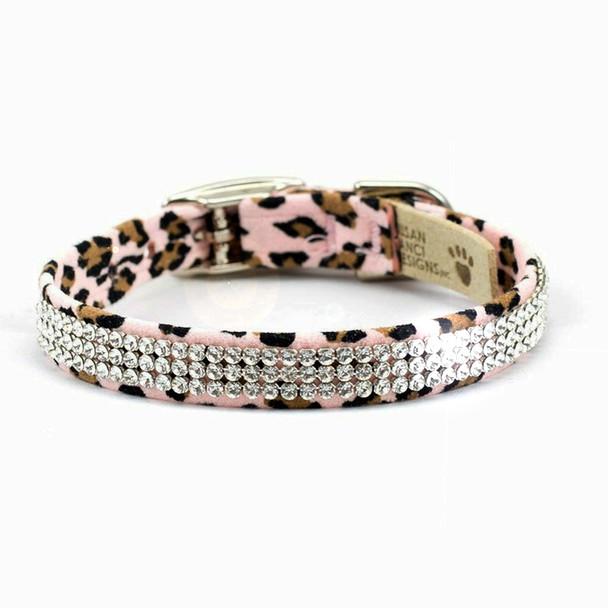 Cheetah Giltmore 3 Row Dog Collars
