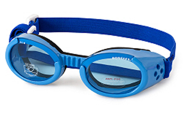 Blue ILS Doggles with Blue Lens Dog Sunglasses
