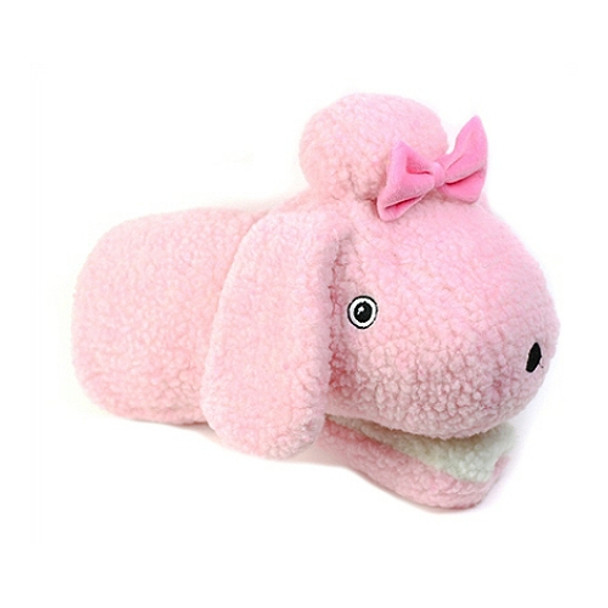 Princess the Pink Poodle Teasers Hand Pup-Pet Plush Dog Toy