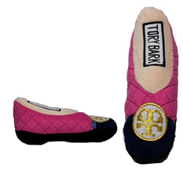 Tory Bark High Heel Shoe Dog Toy