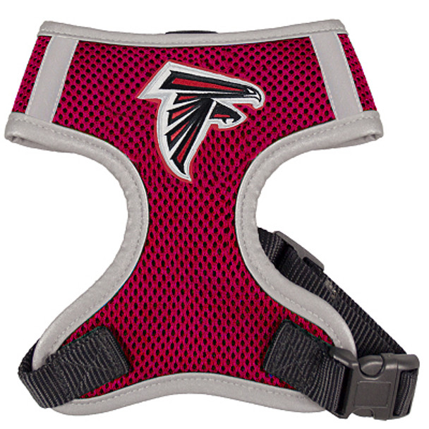 NFL Atlanta Falcons Dog Mesh Harness - Big Dog Sizes Too!
