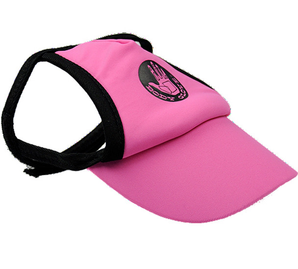 47bc66b9675 Pink Sun Protective Dog Visor Hats for Dogs
