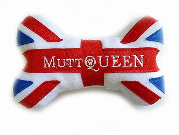 MuttQueen Bone Plush Dog Toy