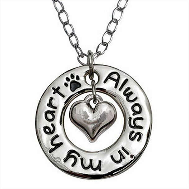 Heart Necklace - Always in My Heart