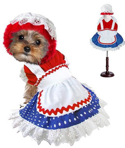 Ragdoll Girl Pet Dog Costume
