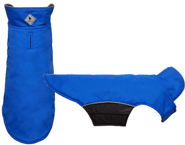 All Weather Apex Nylon Dog Jacket - Royal Blue